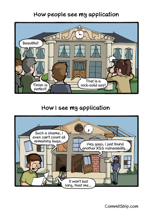 Puntos de vistas diferentes entre el usuario y el desarrollador