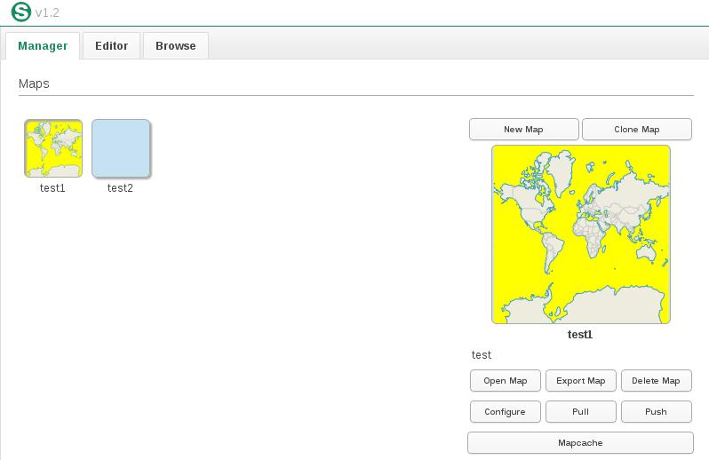 ScribeUI (Google Summer of Code 2015) - crear y previsualizar mapfiles (MapServer)