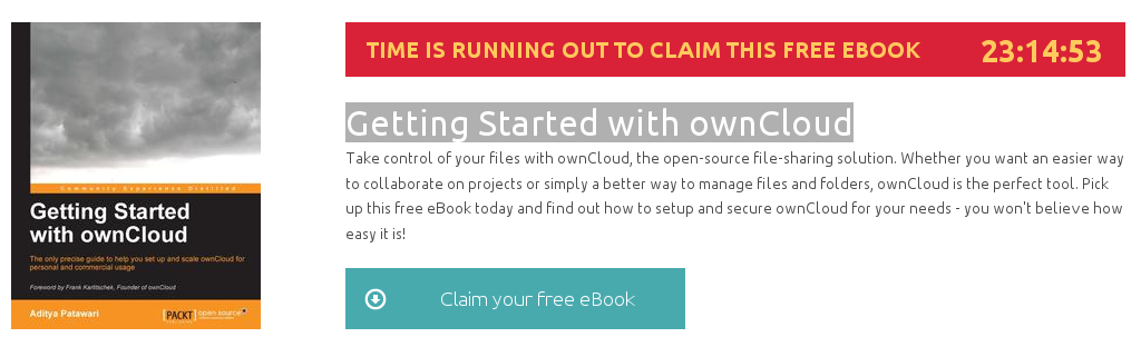 Descargar gratuitamente el ebook Getting Started with ownCloud