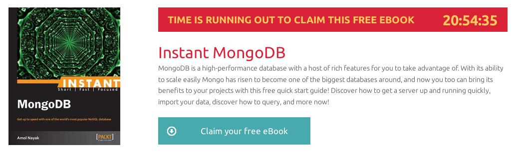 Descargar gratuitamente el ebook Instant MongoDB