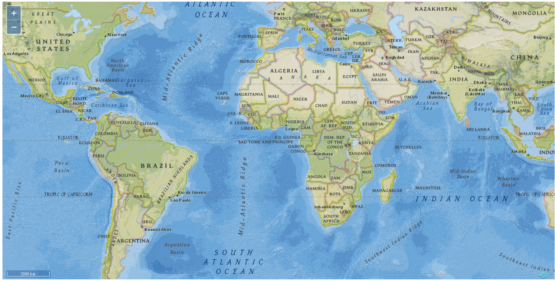 Mapa de ArcGIS con OL3