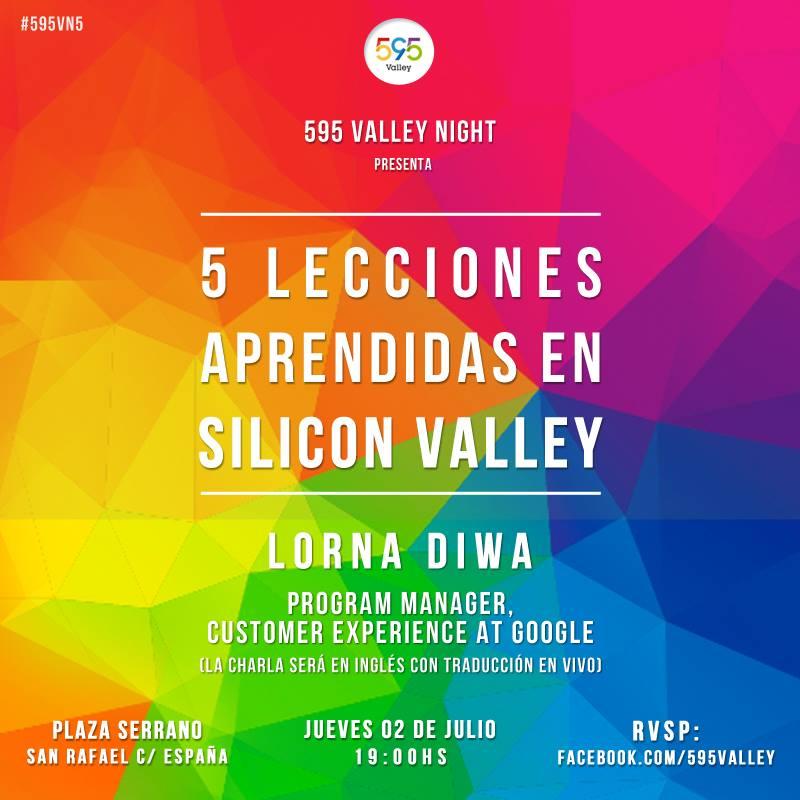 Quinta edición del 595 Valley Night