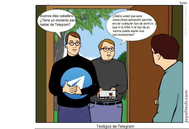 Testigos de Telegram