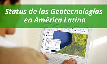 Webinar gratuito: Status de las Geotecnologías en América Latina