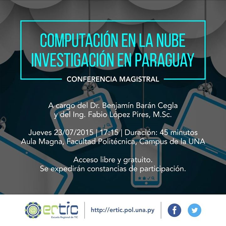 Conferencia computación en la nube en la ERTIC 2015