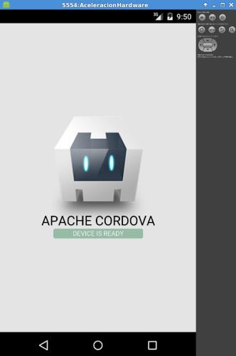 Ejemplo de Apache Cordova 5.1.1
