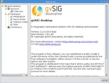 gvSIG 2.2 en Debian Jessie de 64 bits