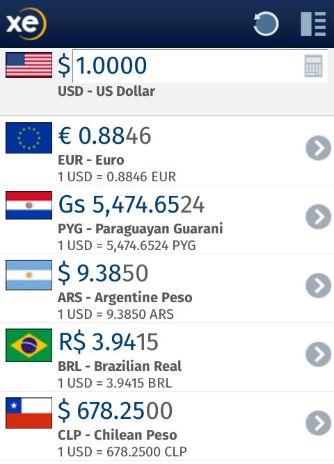 Conversión de monedas en Firefox OS