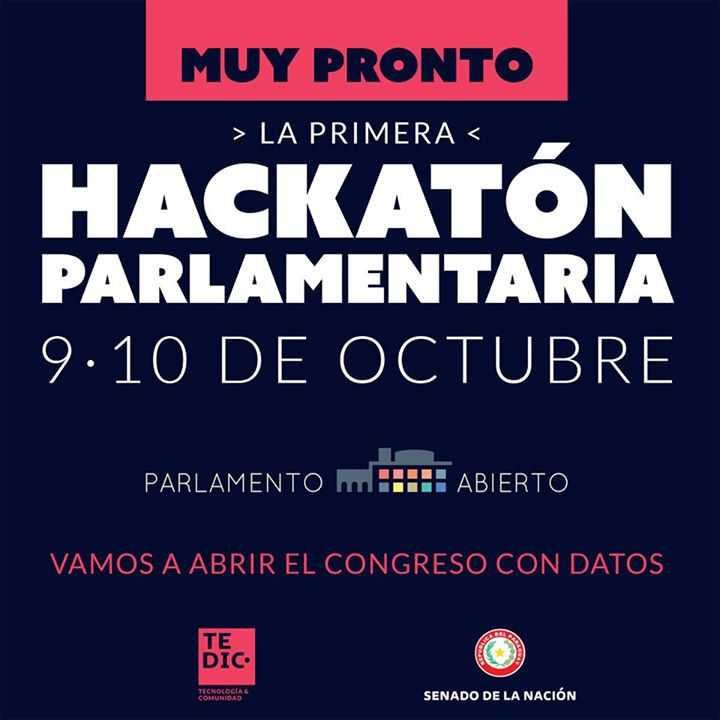 Primera Hackatón Paralamentaria en Paraguay