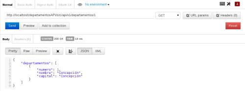 Postman un plugin para gestionar métodos post, get, etc