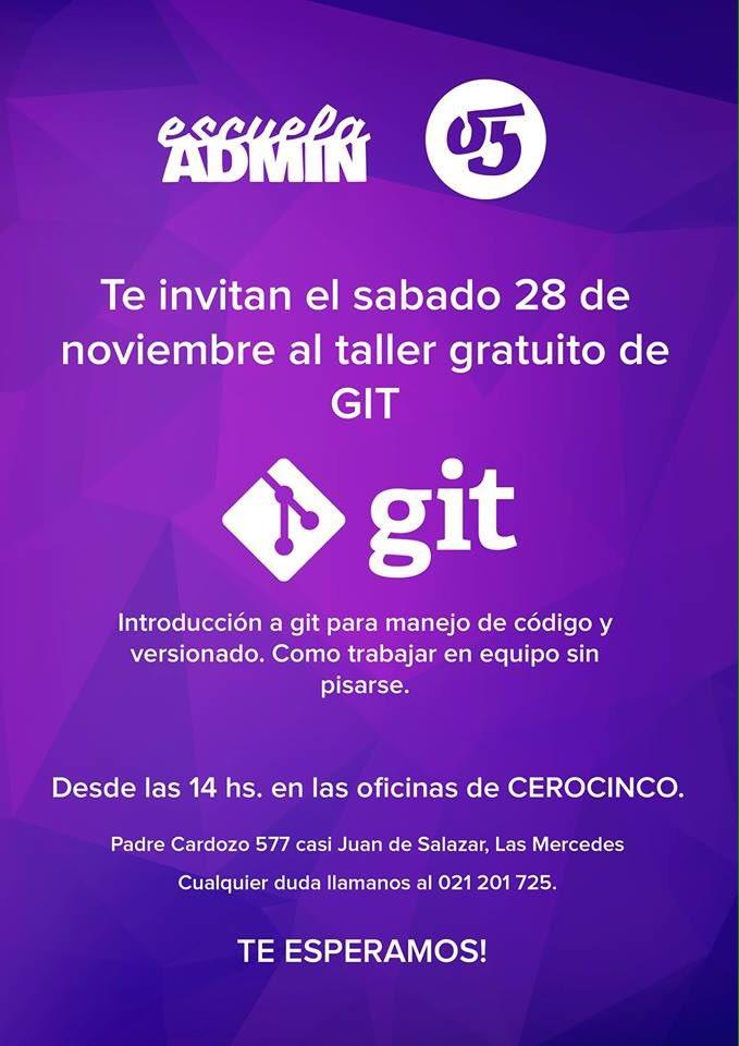 Taller gratuito de GIT