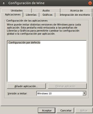 Wine 1.8 estable en Ubuntu 14.04.3 LTS de 64 bits