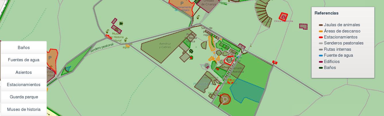 Mapa de Zooasunción