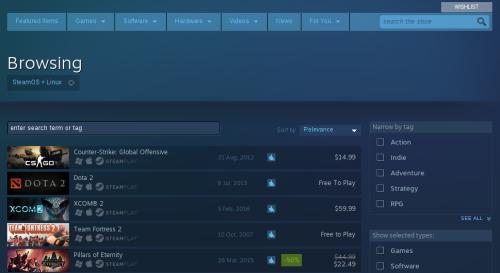 Steam de Fedora 23