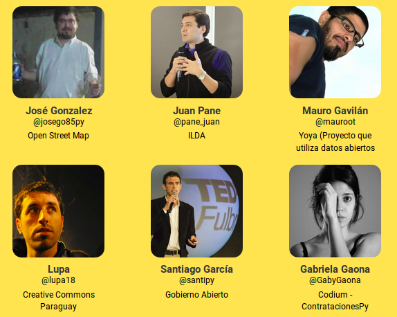 Invitados OpenTalks 2016