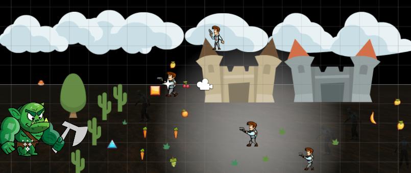 Primera escena en Unity3D
