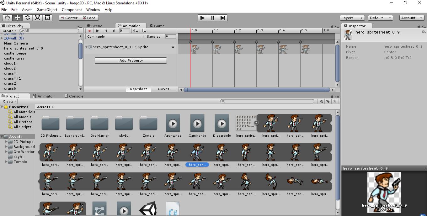 Trabajando en Unity3D
