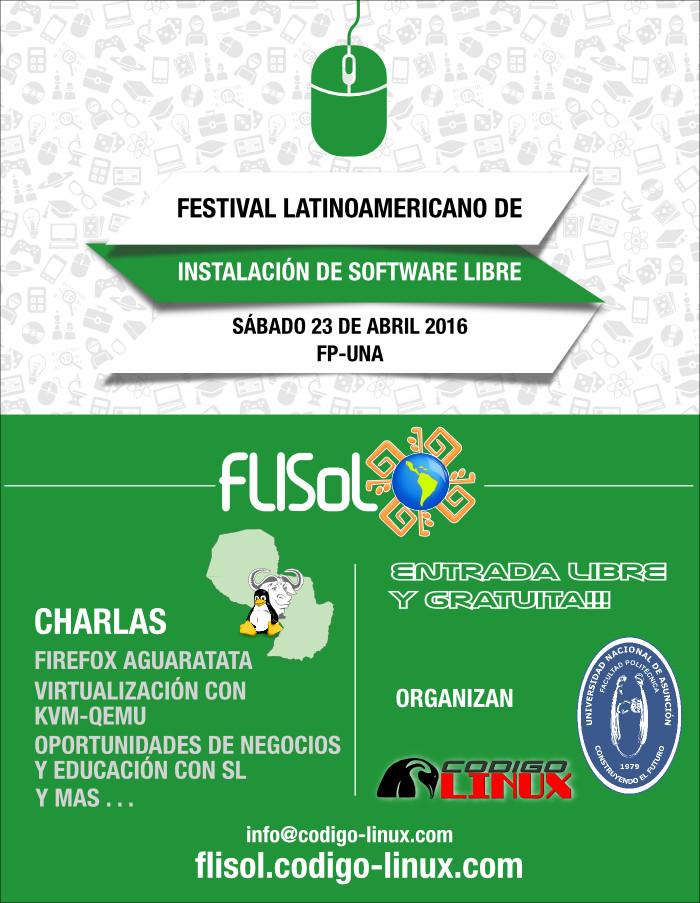 FLISoL 2016 San Lorenzo - Paraguay
