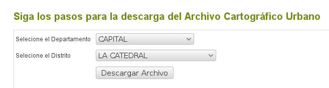Descargar archivos DWG del Servicio Nacional de Catastro de Paraguay
