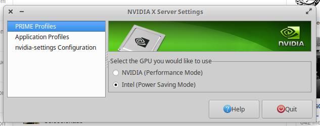 Nvidia Prime en XUbuntu 16.04 LTS