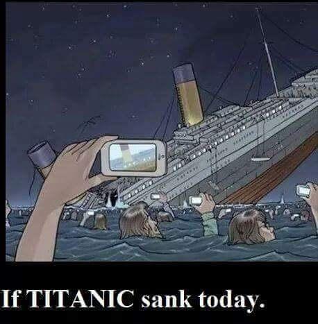 Si Titanic se hundía hoy en día
