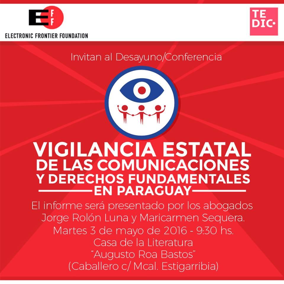 Vigilancia estatal de las comunicaciones y derechos fundamentales en Paraguay