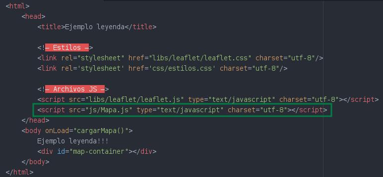Agregamos en el index.html el nuevo archivo JS