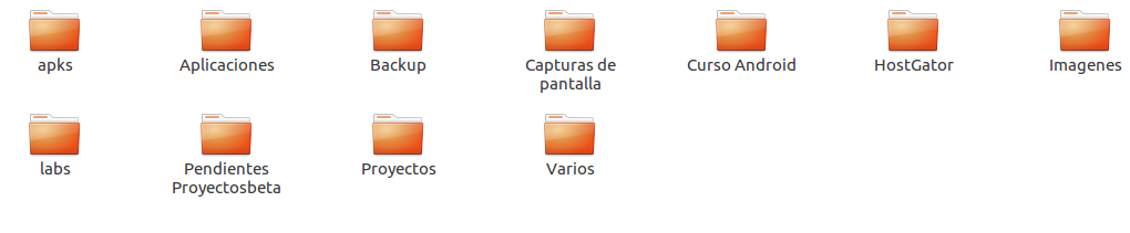 Carpetas sincronizadas de Dropbox en Ubuntu 16.04 LTS