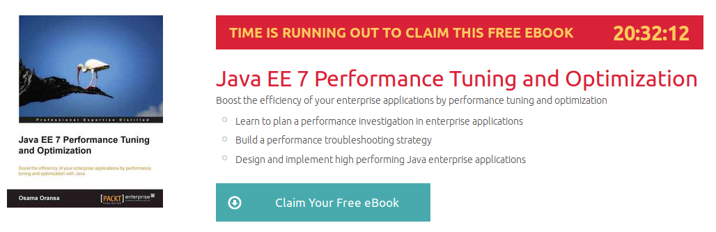 Java EE 7 Performance Tuning and Optimization, ebook gratuito disponible durante las próximas 20 horas
