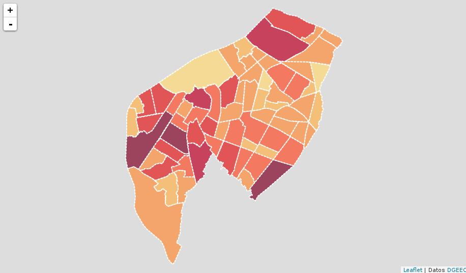 Mapa con datos GeoJSON y con estilos