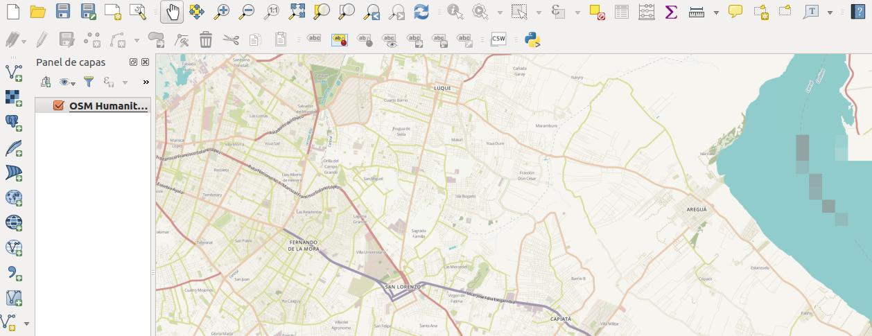 QGIS 2.14 en Ubuntu 16.04 LTS