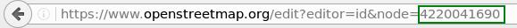 Editar un punto en el proyecto OSM