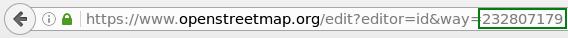 Editar una línea en el proyecto OSM