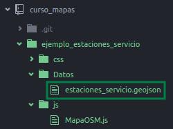 Archivo GeoJSON de las estaciones de servicio de Asunción - Paraguay