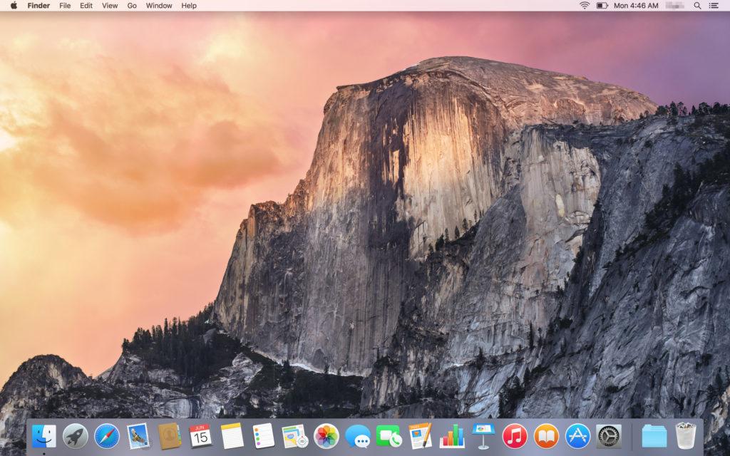 GlobalMenu - El Capitan Mac OSX