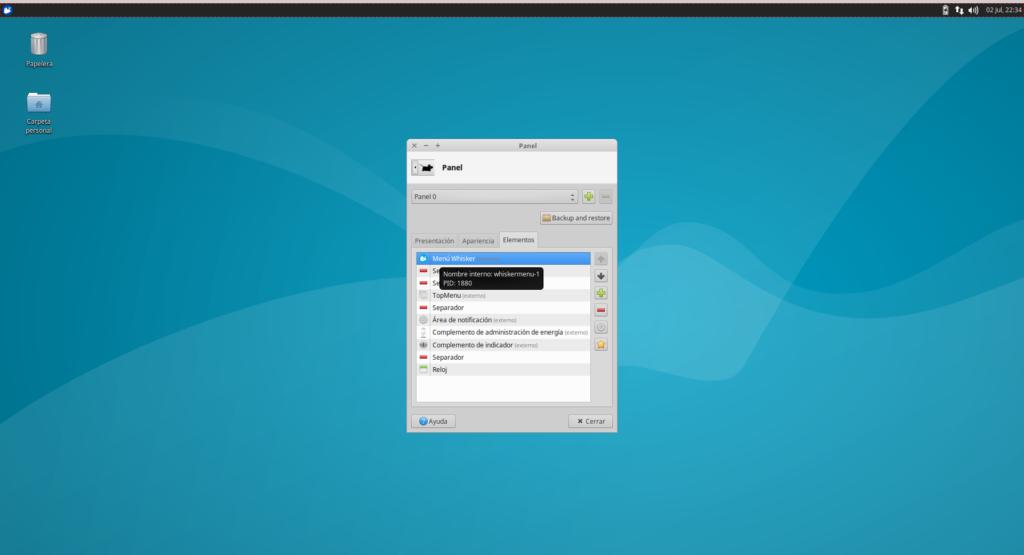 XFCE en Ubuntu 16.04 LTS