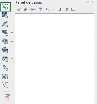 Agregar un archivo SHP en QGIS