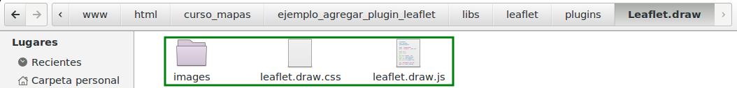 Archivos del plugin