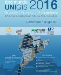 Foro Mundo UNIGIS 2016 - Simposio - Asunción - 14 de octubre (imagen destacada)