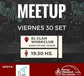 Meet-up del Startup Weekend San Lorenzo (imagen destacada)
