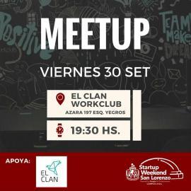 Meet-up del Startup Weekend San Lorenzo (imagen destacada)