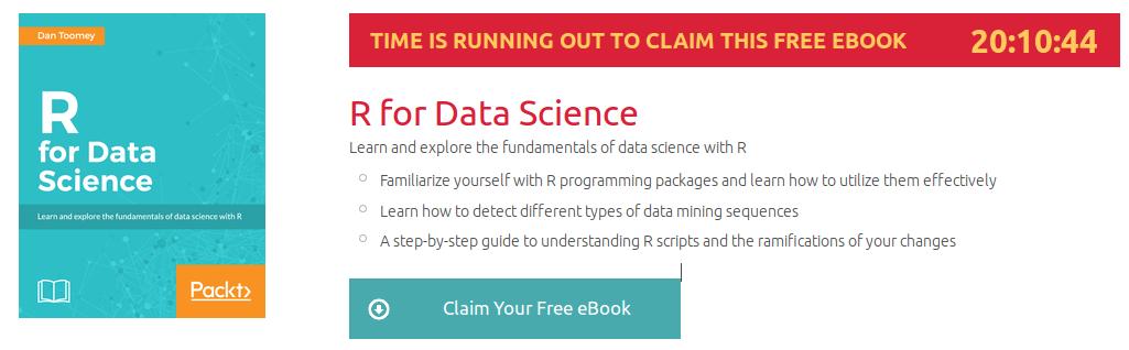 R for Data Science, ebook gratuito disponible durante las próximas 20 horas