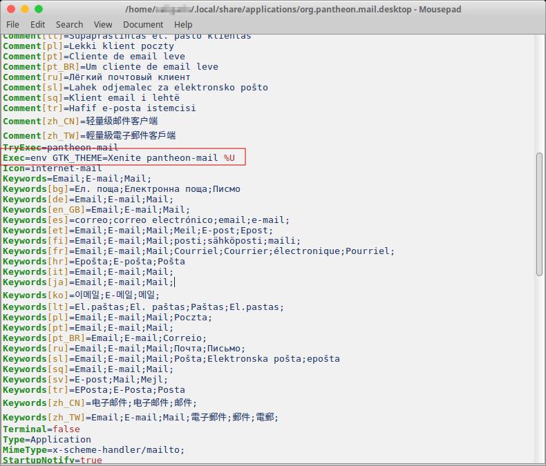 Configuración en elementary OS