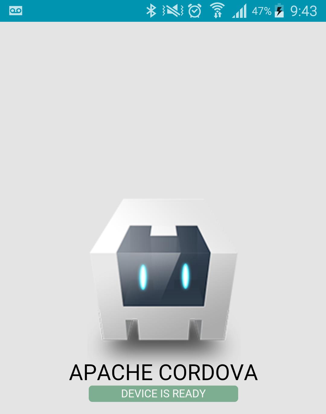 Apache Cordova en un Samsung S5