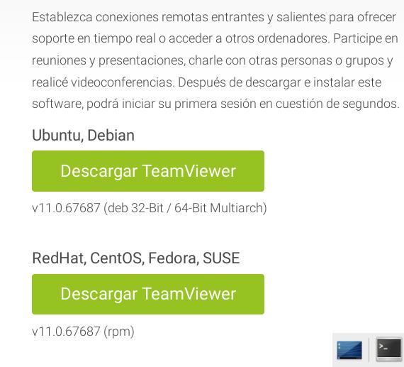 Descargar TeamViewer para Debian Jessie