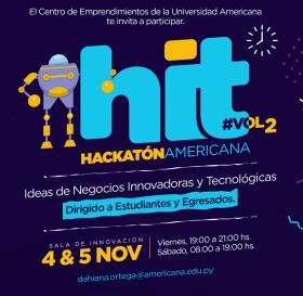 HITVol2 para estudiantes y egresados de la Universidad Americana (imagen destacada)
