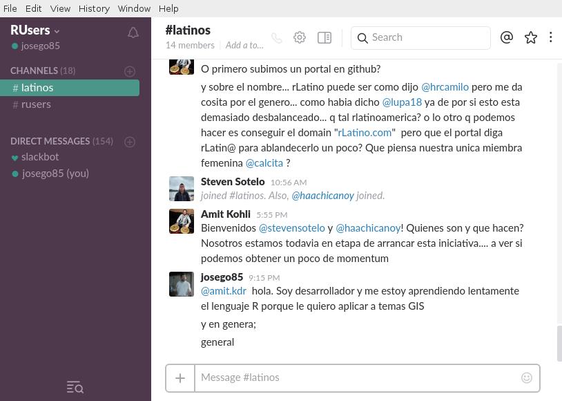 Slack en Debian Jessie de 64 bits