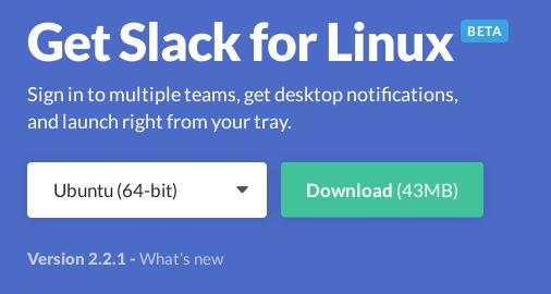 Slack para Linux