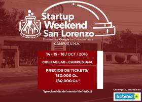 Startup Weekend San Lorenzo (imagen destacada)