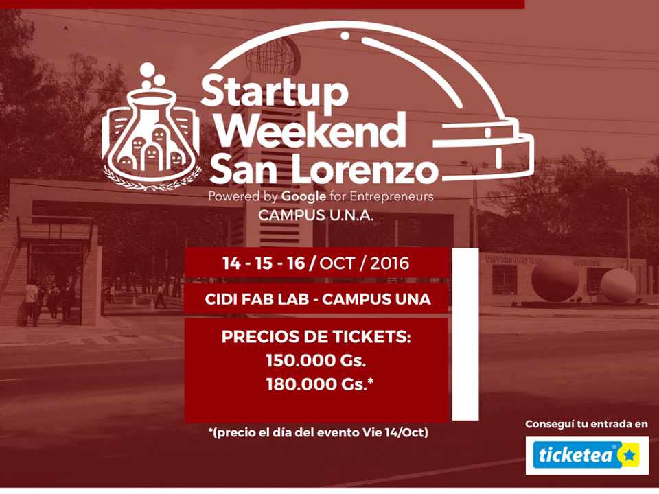 Startup Weekend San Lorenzo